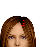 BL05 Bladder Meridian Acupuncture Point - Dermal / Skin level.