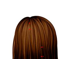 BL08 Bladder Meridian Acupuncture Point - Dermal / Skin level.